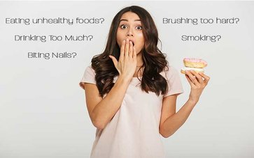 Does Unhealthy Lifestyle Affect Our Oral Health? - main blog image